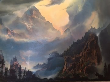 To Awaken the Light Within You 36x48 Original Painting - Dale Terbush