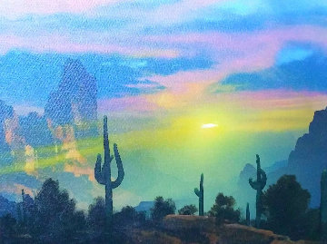 Southwest By My Way of Thinking 1991 29x33 Original Painting - Dale Terbush