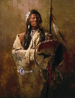 Status Symbols 1982 Limited Edition Print - Howard Terpning