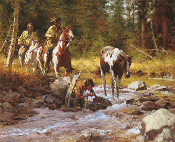 Nectar of the Gods Limited Edition Print - Howard Terpning