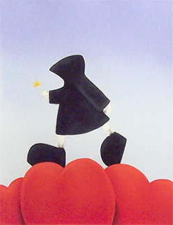 Walking on Love  2003 Limited Edition Print - Mackenzie Thorpe