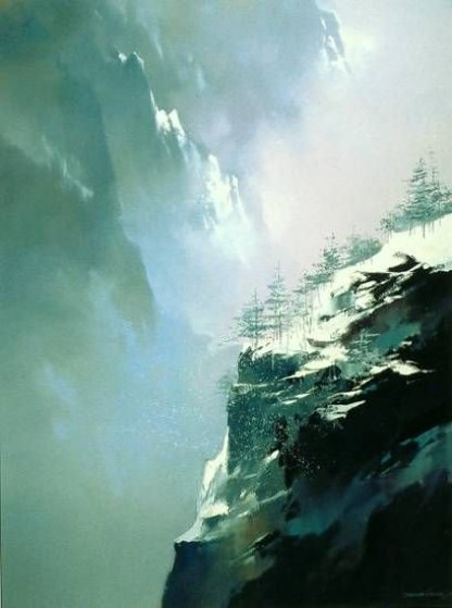Song of the Winter Mountain 1990 Limited Edition Print by Thomas Leung