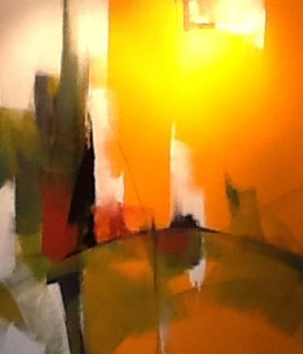 Synchonicity Suite of 5 Paintings 2008 Original Painting - Thomas Leung