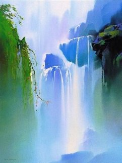 Misty Falls 1991 Limited Edition Print - Thomas Leung