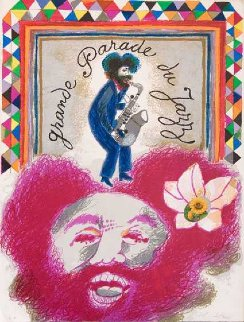Grande Parade Du Jazz 1975 Limited Edition Print - Theo Tobiasse