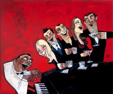 Piano Bar 2000 Limited Edition Print - Todd White