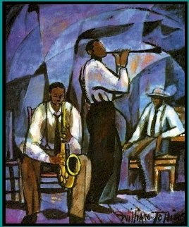 Jammin 1991 Limited Edition Print - William Tolliver