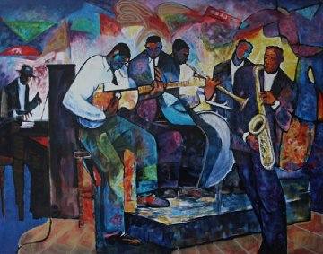 Big Band 2000 Limited Edition Print - William Tolliver