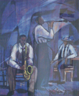 Jammin' 1991 Limited Edition Print - William Tolliver
