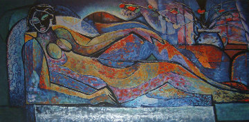 Reclining Nude 1993 Limited Edition Print - William Tolliver