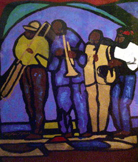 Jazz Emotions I Limited Edition Print - William Tolliver