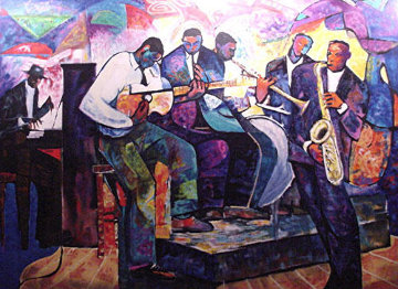Big Band 1992 Limited Edition Print - William Tolliver