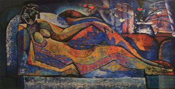 Reclining Nude 1992 Limited Edition Print - William Tolliver
