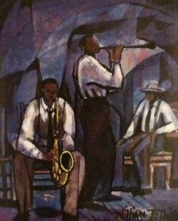 Jammin  1989 Limited Edition Print - William Tolliver