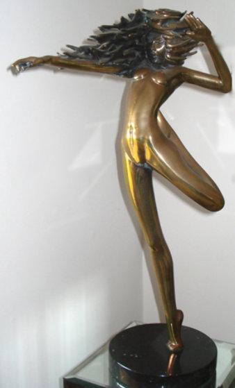Raindancer Bronze Sculpture 1983 28 in