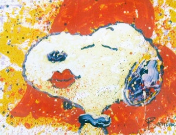 A Kiss is Just a Kiss 1999 Limited Edition Print - Tom Everhart
