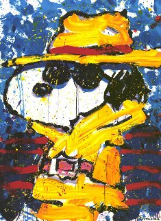 Undercover in Beverly Hills 1995 Limited Edition Print - Tom Everhart