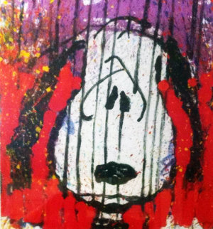 To Every Dog There is a Season - Winter 1996 Limited Edition Print by Tom Everhart