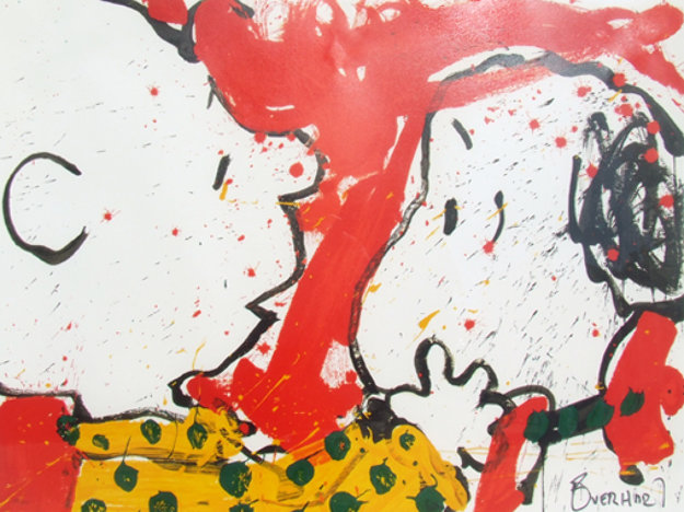 Doggie dearest 1999 by tom everhart for Best way to sell your art online