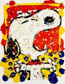 Squeeze the Day - 2001 Friday 48x39 Limited Edition Print - Tom Everhart