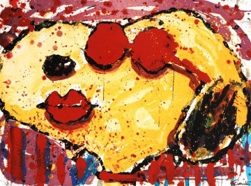 Very Cool Dog Lips in Brentwood, California 2001 Limited Edition Print - Tom Everhart