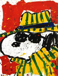 It's the Hat That Makes the Dude Limited Edition Print - Tom Everhart