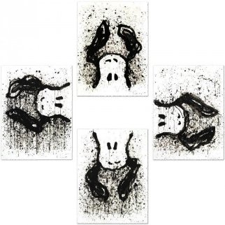 Watchdog O'clock Suite of 4 Limited Edition Print - Tom Everhart