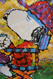 Tea At the Bel Air Beagle Club 3:00 Pm 2001 Limited Edition Print - Tom Everhart