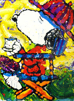 Tea At the Bel Air 7 P.M. Limited Edition Print - Tom Everhart