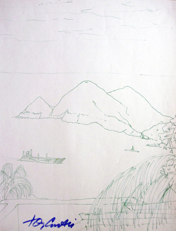 Hawaiian Memories Drawing 2004