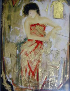Red Dress Limited Edition Print - Janet Treby