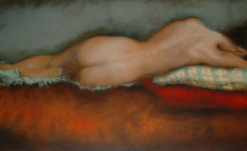 Reclining Nude Limited Edition Print - Janet Treby