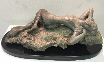 Allure Bronze Sculpture 2014 40 in Sculpture - Nguyen Tuan