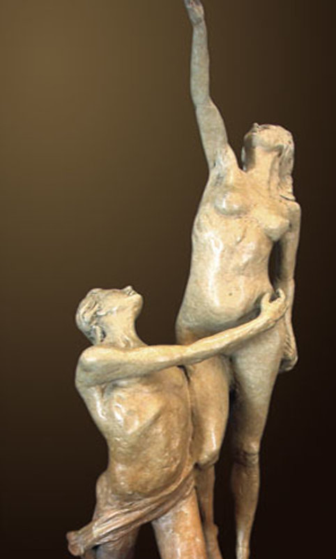 Destiny Bronze Sculpture 2001 28 in