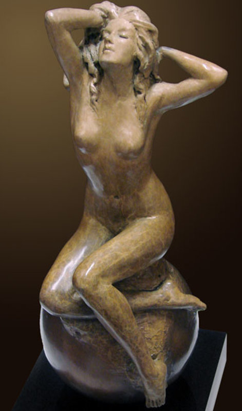Spring Bronze Sculpture 2011 15 in