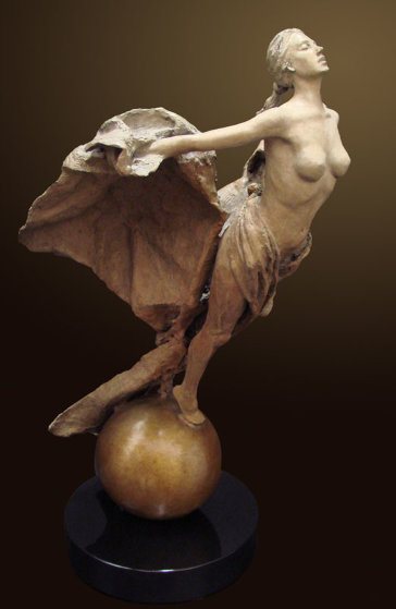 Rebirth Bronze Sculpture 2010 34 in