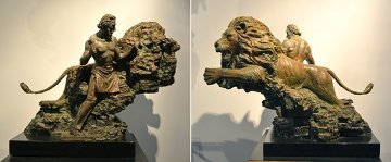 Self Creation Bronze Sculpture 36 in Sculpture - Nguyen Tuan