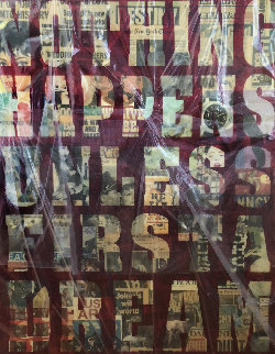 Nothing Happens Unless First a Dream 2003 58x48 Works on Paper (not prints) - Peter Tunney