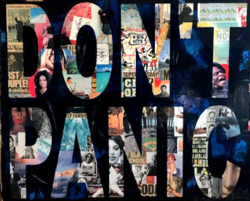 Don't Panic 2013 48x60 Original Painting - Peter Tunney