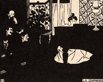 Untitled Woodcut 1908 Limited Edition Print - Felix Vallotton