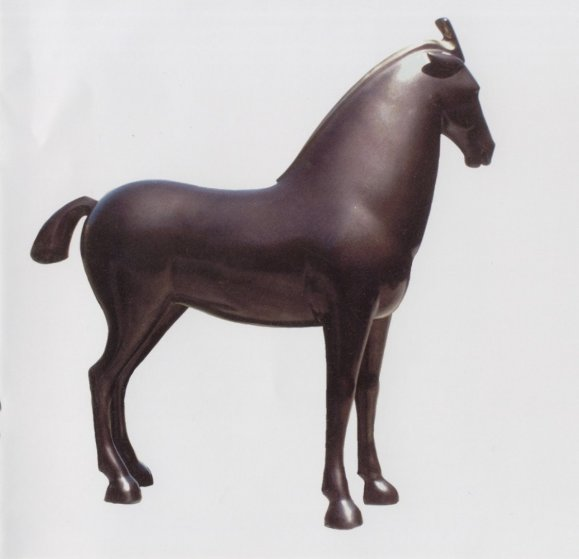 Horse Royale Bronze Sculpture 40x40