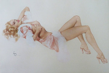 Sleeping Beauty, Legacy Nude #1 Limited Edition Print - Alberto Vargas