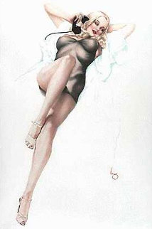 First Love Deluxe Edition 1986 Limited Edition Print - Alberto Vargas
