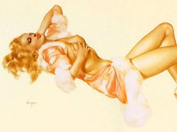 Sleeping Beauty - Legacy Nude #1     1996 Limited Edition Print - Alberto Vargas