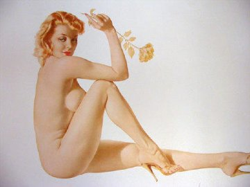 Legacy Girl 1987 Limited Edition Print - Alberto Vargas