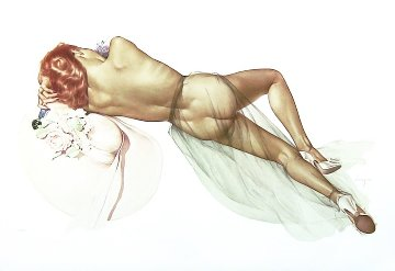 World War 2 1983 Limited Edition Print - Alberto Vargas
