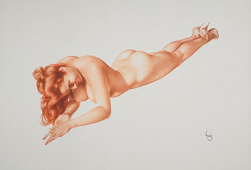 Legacy 4 Exuberance Limited Edition Print - Alberto Vargas