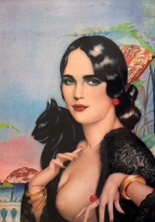 Spanish Lace 1996 Limited Edition Print - Alberto Vargas