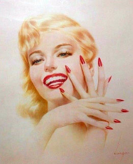 Marylin Monroe HS  Limited Edition Print - Alberto Vargas