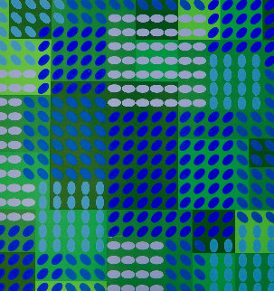 Tavoll 1964 Limited Edition Print - Victor Vasarely